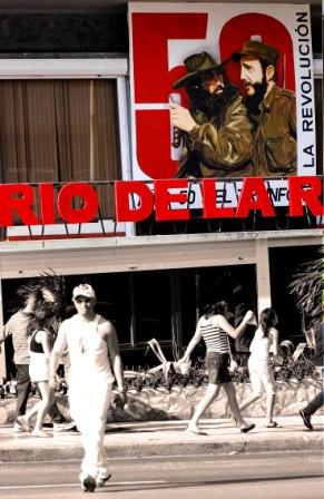 """Cuba's Revolution Turns Fifty"", photo by Caridad"