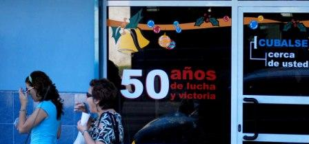 Fifty Years of Struggle and Victories, photo by Caridad