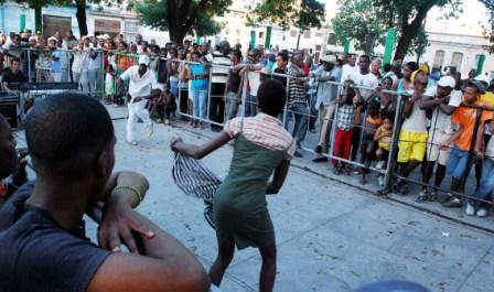 Rumba demonstration