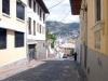 4- In the historic city center of Quito.