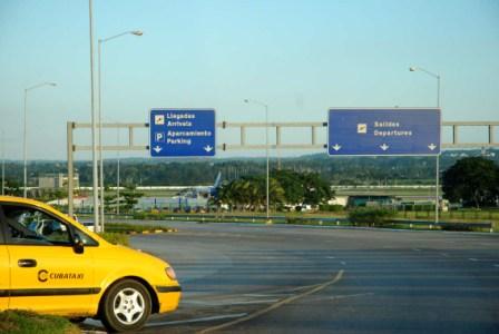 Havana International Airport.  Photo: Caridad