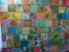 Mural in an apartment in Alamar.
