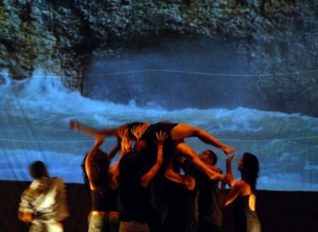 Waterproof-Retazos performance in Old Havana.