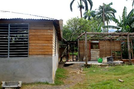 Fourteen percent of the totally destroyed homes in Baracoa have been rebuilt.
