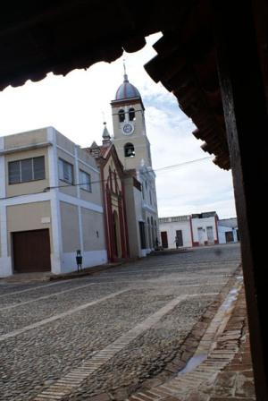 San Salvador Church in the heart of Bayamo, Cuba