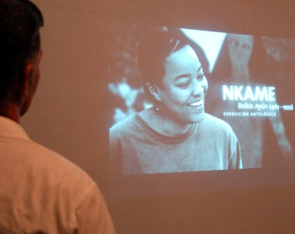 The work of the late Belkis Ayon. Photo: Caridad