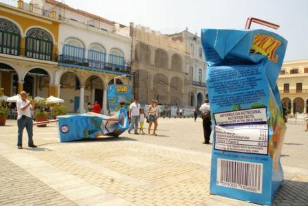 """Victor Santos Viera and his """"Solid Waste"""" at the 10th Havana Biennial"""