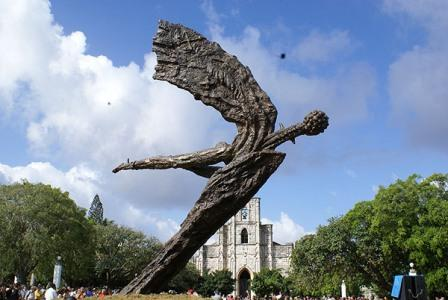 Flight Lam, a sculpture by Alberto Lezcay with help from dozens of other Cuban artists.