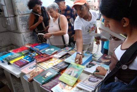 Cuba has many avid readers.