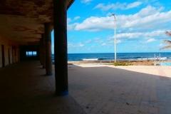 vista desde los portales del Club La Costa