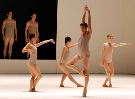 """Royal Ballet performs """"Chroma"""" by its director Wayne McGregor, music by Jobt Talbot and Jack White III.  Photo: Caridad"""