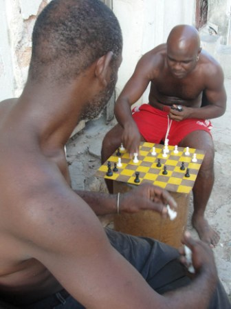 Chess is quite popular in Cuba.
