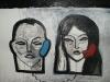 Incomunicación,  120 x 100 cm, acrílico sobre lienzo, 2011