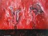 La enseñanza, 100 x 80 cm, acrílico sobre tela, 2010