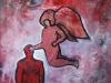 La influencia, 100 x 85cm, acrílico sobre lienzo, 2011