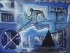 Velocidad, 100 x 70 cm, Acrílico sobre tela, 2010