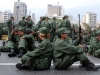 Parade in Caracas supporting the Venezuelan president.