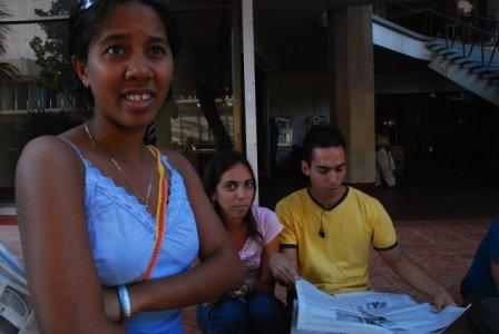 """""""Cenesex cannot do this work alone, which is why we have called on the youth, who will be future professionals and leaders of Cuban society,"""" said Mariela Castro. Photo: Caridad"""