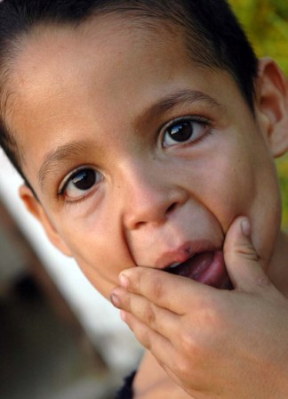 Cuban boy.  Photo: Caridad