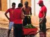 Buying vegetables.  Photo: Edwin Wiebe