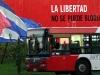 Libertad vs. Bloqueo.  Photo: Orlando Luis Pardo