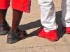 Red shoes.  Photo: Edwin Wiebe