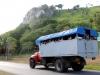 02 Trucks arriving at Jibacoa, former Habana Campo.