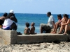 """05 The """"Russians' Beach"""", in Havana's neighborhood of Alamar, declared unsuited for swimming."""