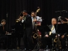 Wynton Marsalis performing in Cuba with the Lincoln Center Orchestra.