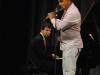 """Orlando \""""Maraca\"""" Valle on flute."""