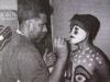 Since 1987 Luz Maria has been part of the Mendive  Performance Ballet of Cuban painter Manuel Mendive.