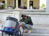 The hardest job in Havana.  Photo: Casey Strong