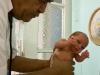 Weighed, Hospital Maternidad Obrera.  Photo: Sergio Leyva