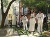 """034Danza espiral (Matanzas, Cuba)""""Están soñando un árbol""""."""