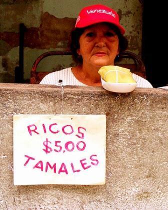 Private tamale seller.