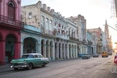 Carlos III Street, Havana. View from Felicia's small book business.