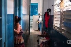 Inside Felicia and Orlando's home in Los Sitios, Havana.