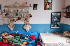 Inside a Cuban home in 2021. She still remembers the first book she ever read, a little book about Che that she says changed her life.