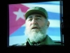 A video of Fidel Castro was played.  Photo: Jorge Luis Baños-IPS