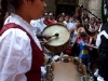 Bagpipes and tambourines in Old Havana