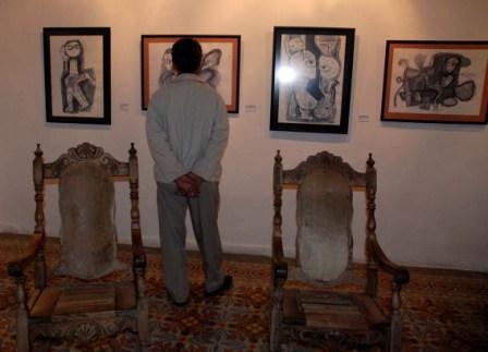 Exhibition by artist Rigoberto Rodriguez