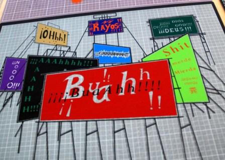 Work of Cuban artist Carlos Garaicoa at the 10th Havana Biennial. photo: Caridad