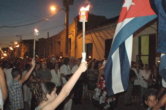 Opening night parade