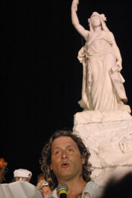 Low-Budget Film Festival director, Sergio Benvenuto. Photo: Amauris Betancourt, www.radioangulo.cu