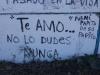 Grafiti en la Vía Blanca 1