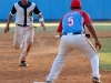 0003 Third baseman Luis Sanchez.
