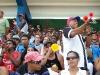 0005 Fanáticos en el estadio de Guantánamo.