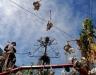 Havana\'s Callejon de Hamel Afro-Cuban Art Poject celebrates its 19th anniversary.