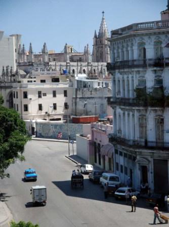 Looking towards Old Havana.  Photo: Caridad