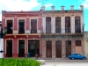 Neocolonial style houses.